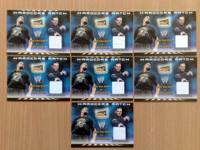 New Card   7th WWE 2002 Royal Rumble Gimmick Matches Memorabilia Cards