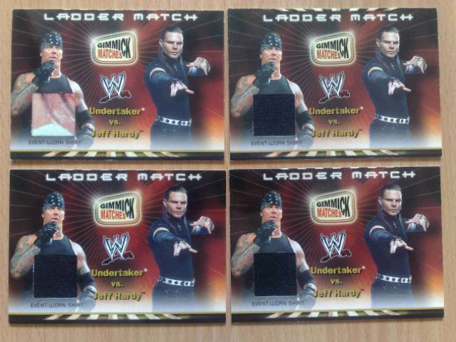 New Card   4th WWE 2002 Royal Rumble Gimmick Matches Memorabilia Cards