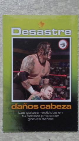 2008 Wwe Juego De Mesa Smackdown Dquechuajeffhardycollectioncards
